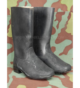 German WW2 new leather marching boots - Marschstiefel