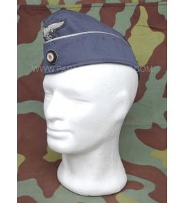 German WW2 Luftwaffe officer gabardine side cap overseas - by Erel Robert Lubstein