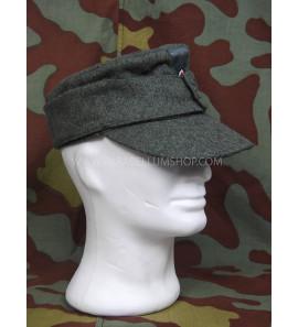 German WW2 wool M43 Army field cap Wehrmacht - Feldmutze M43 einheitsfeldmutze