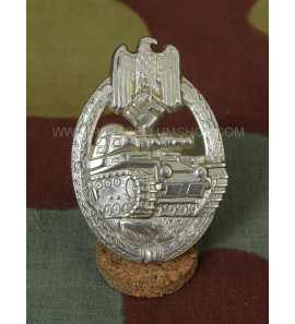 Tank Assault Badge made in German Silver and silver level -Panzerkampfabzeichen in silber-