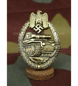 Tank Assault Badge made in German Silver and bronze level -Panzerkampfabzeichen in bronze-