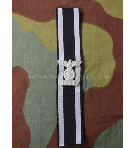 "1914 Iron Cross 2nd class ribbon with spange - Spange ""1939"" zum Eisernen Kreuz 1/2 klasse von 1914"