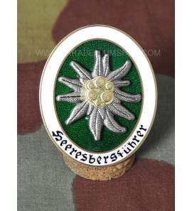 German WW2 Army Mountain Guide Badge - Heeresbergführer