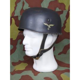 German WW2 paratrooper M38 helmet - Fallschirmjager - Aged