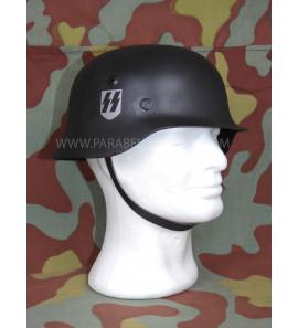 Allgemeine SS steel helmet black