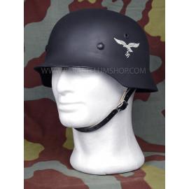 German WW2 Luftwaffe ET M40 helmet with decal - Stahlhelm M40
