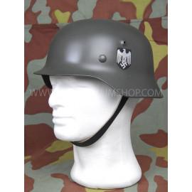 German WW2 steel helmet M40 reproduction with decal - Army -Waffen SS - Luftwaffe - Feldgendarmerie - Stahlhelm M40