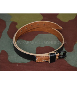 Leather strap for equipment or mess tin