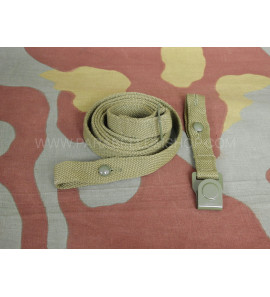 WW2 German gas mask canister strap