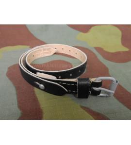 WW2 German black Leather strap quick release
