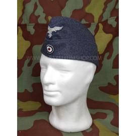 German Air Force grey/blu wool side cap Luftwaffe enlisted and NCO by Erel Robert Lubstein