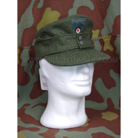German WW2 M43 wool field grey cap Heer - Erel by Robert Lubstein