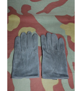 German WW2 officer, NCO and enlisted leather grey gloves for service and shore leave