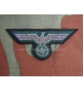German WW2 Heer Officer NCO BEVo eagle on bottle green wool High Quality