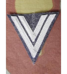Obergefreiter Luftwaffe - grey cotton tresse on blu grey -