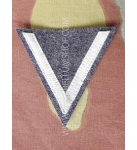 Gefreiter Luftwaffe - grey cotton tresse on blu grey -