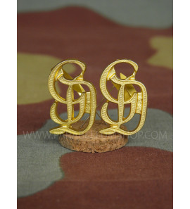 Premium Grossdeutschland GD metal shoulder boards cyphers - Gold