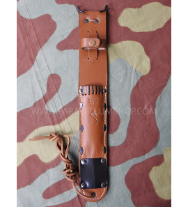 US WW2 M6 leather scabbard for M3 trench knife