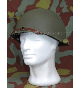 US WW2 M1 helmet refurbished