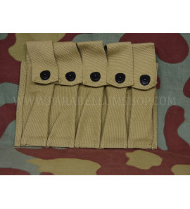 US WW2 Thompson M28/M1 ammo pouch repro