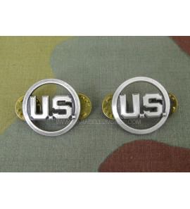 Collar Discs USAAF EM - Silver