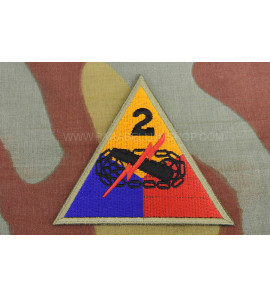 2nd Armored Division Hell on Wheels WITHOUT NAME