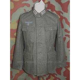 German WW2 field tunic M40 with Heer insignia