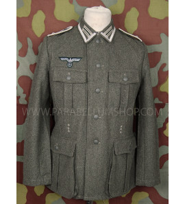 German WW2 NCO Heer Field tunic M40 with insignia