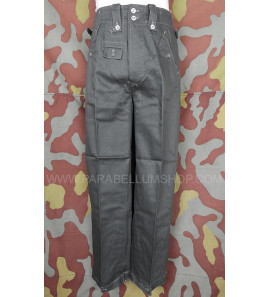 German WW2 M42 Summer HBT trousers - Drillichhose -