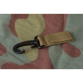 COYOTE BELT KEEPER with 7 cm carabiner