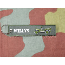 Willys jeep key ring WW2