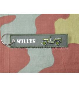 Willys jeep key ring WW2