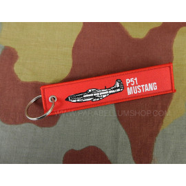 Key ring USAAF P51 Mustang WW2