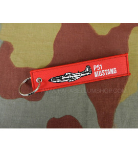 Key ring USAAF P51 Mustang WW2