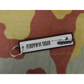 Key ring keychain WW2 German Tiger I PZKPFW