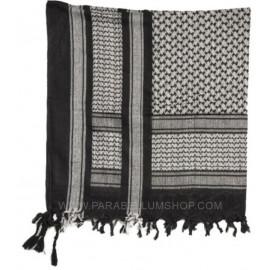 WHITE/BLACK SHEMAGH Scarf/shawl kefiah fantasy
