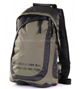 Shoulder backpack in PVC water repellent