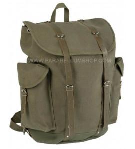 Green vintage German mountain backpack