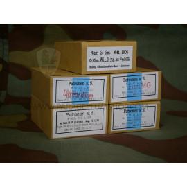 Mauser Kar 98 7,92 × 57 mm ammo package