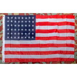 Stars and Stripes flag 48 stars American flag