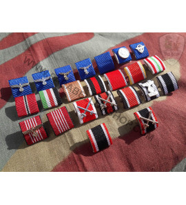 German medal ribbon bar -copia