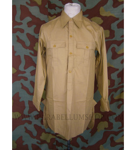 German WW2 tropical Luftwaffe shirt - Fallschirmjager