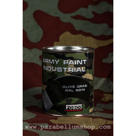 Olive Drab Nato Green Military paint can 1 liter FOSCO