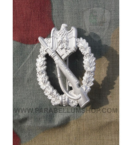 Infantry Assault Badge silver Infanterie Sturmabzeichen in Silber