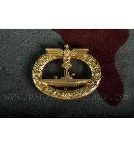 German WW2 submarine war badge - U-Boot-Kriegsabzeichen