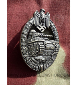 Tank Assault Badge in bronze Panzerkampfabzeichen in bronze