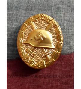 Wound Badge Gold Verwundetenabzeichen in Gold