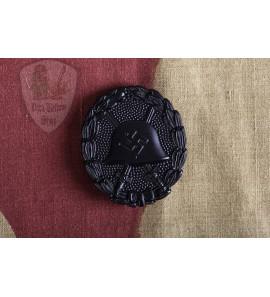 Spanish Wound Badge Black Verwundetenabzeichen in Schwarz