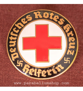 DRK Helferin Pin Badge
