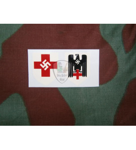Decal Red Cross